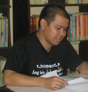 Troy Lacsamana — Library Leader